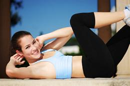 Free Exercises For a Flat Stomach