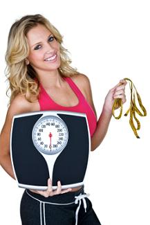 ideal body weight chart for women