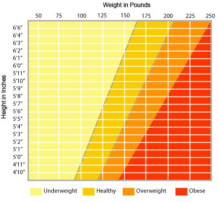 Ideal Body Weight Chart What Is Your Ideal Weight