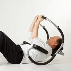Easy exercise machines for the stomach